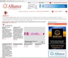 Tsédaka 2011 Les médias en parlent … Alliance