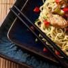 Recette Kasher (Cacher) Nouilles Chinoises sautées au poulet