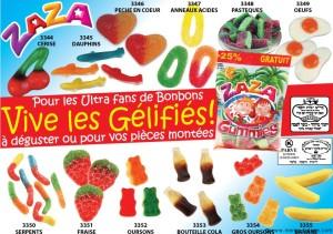 LES BONBONS GÉLIFIÉS GARANTIS PAR MÉMÉ HÉLÈNE