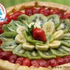 Tarte vitaminée kiwi-fraises-bananes