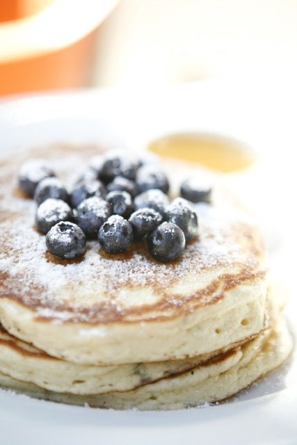 pancake blueberry