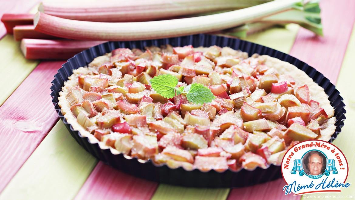 tarte-rhubarbe