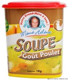 Soupe de poulet aux Kneidlech de Pessah