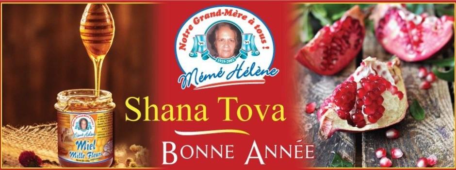 SHANA TOVA  HATIMA TOVA  BONNE ANNEE 5779 !