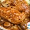 Mon Poulet sauce Chasseur